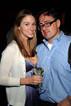 Social Life Magazine Fashion Director, Liz Duran and Chris London