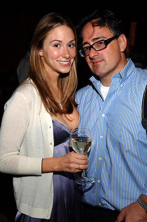 Social Life Magazine Fashion Director, Liz Durand and Chris London