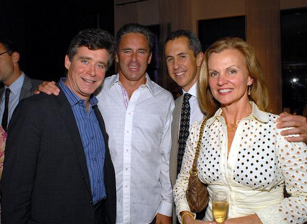 "Jay McInerney, Campion Platt, <a href=""http://www.cbsnews.com/stories/2003/03/03/sunday/main542606.shtml"">Danny Meyer</a> & Audrey Meyer"