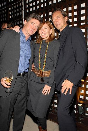 Jay McInerney, Nicole Miller & ?