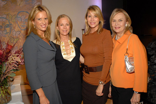 Kerry Kennedy, Anne Hearst, Patrica Duff & Cornelia Bregman