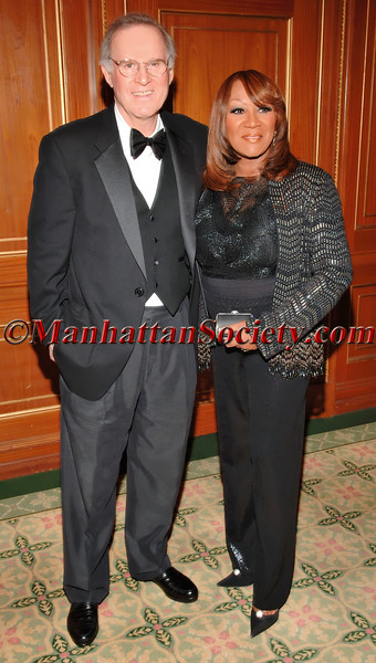 "Charles Grodin & Patti LaBelle at the Pierre Hotel for The Children's Cancer and Blood Foundation ""Breakthrough Ball"""