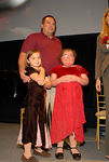 Daryl Schultz and his daughters