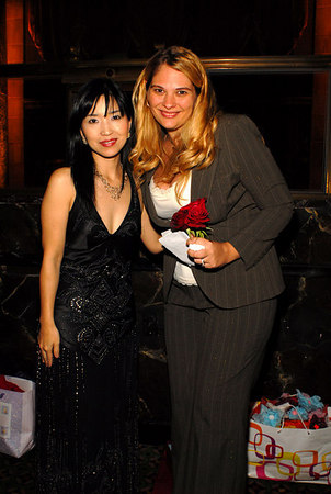 Keiko Matsui with donor Shannon Behrhof