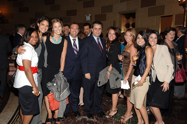 Tom Rutledge (head of Cablevision) and coworkers