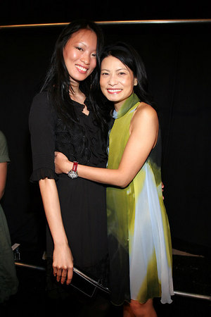Ling with Vivienne Tam