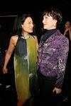 "Vivienne Tam & <a href=""http://en.wikipedia.org/wiki/Bebe_Neuwirth"">Bebe Neuwirth</a>"