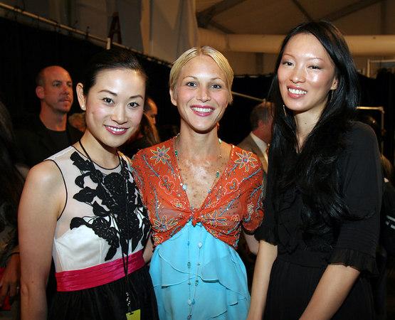 Ida Liu, Carrie Cloud & Ling