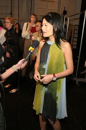 Vivienne Tam gets interviewed by MTV