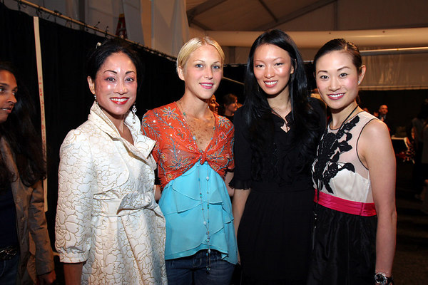 Lucia Hwong Gordon, Carrie Cloud, Ling & Ida Liu