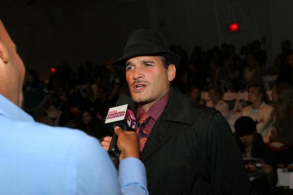 Phillip Bloch being interviewed