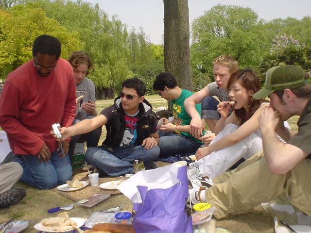 picnic @ park