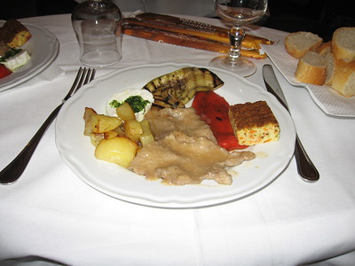 Lunch at Cafe Fiorio in Torino - Mibs Mara