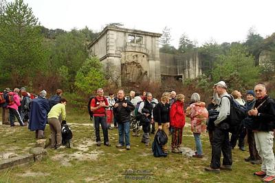 Carrières de Ste Juste (26) - Ruine des appareillages de transport vers St Paul Trois Chateaux