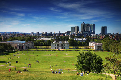Summer Sunday in London