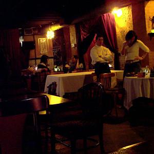 Tapas' basement restaurant