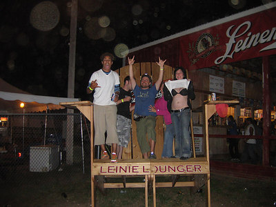 We finished the night at the top of the hill at the Leinie Lounge.