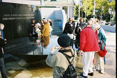 Civil Rights Memorial, Montgomery - Bob Durkee