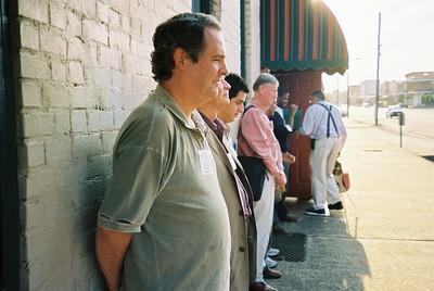 Jim Dinneen and Princeton group in slavery reenactment - Bob Durkee