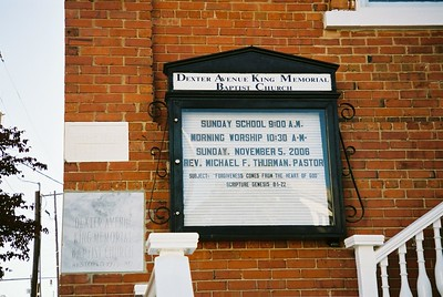Dexter Avenue King Memorial Baptist Church - Bob Durkee