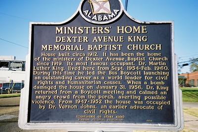 The Parsonage at Dexter Avenue King Memorial Baptist Church - Bob Durkee