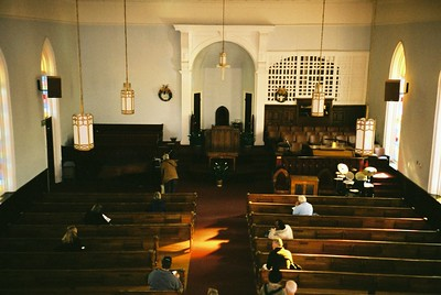 Interior of Dexter King Memorial Church - Bob Durkee