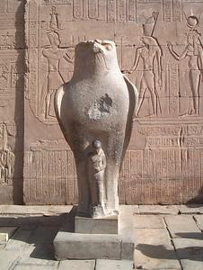 Horus, Temple of Isis - Betty Leydon