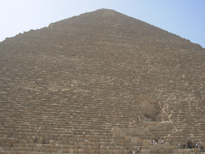 The Great Pyramid in perspective. -Danny Turner