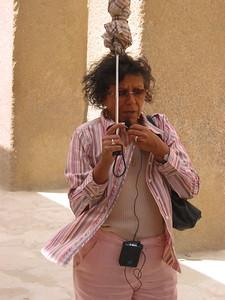 Sonia el Masri and her Umbrella - Sue and Bob Rodgers