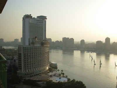 Modern hotel & ancient sailboat designs on the Nile -Danny Turner