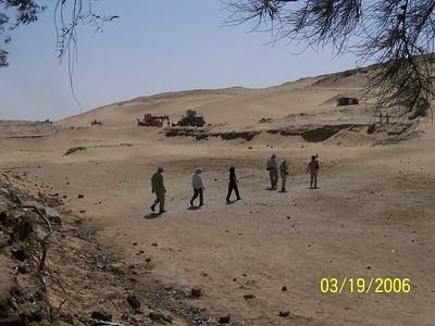 Giza - Hike To Workmens Tombs
