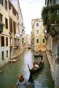 Gondolas, Venice - Kimberly Collins