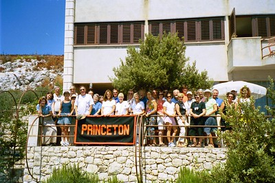 Princeton Group at Zaknic/Emerson home, Croatia