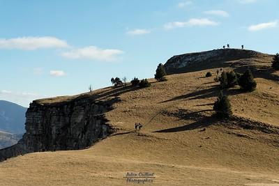 Vallon de Combau - Les crêtes de Tête Chevalière
