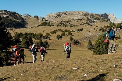 Vallon de Combau - Vue sur le Col de Greuson