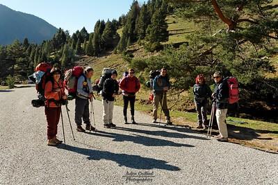 Vallon de Combau - Terminus de la route et départ des randonneurs