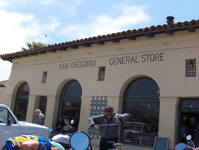Like it says, the San Gregorio General Store