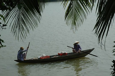 Life along the river in Hoi An - Val Fitch