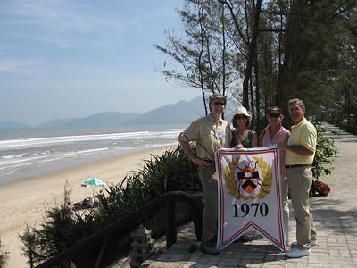 70s at Lang Co Beach - Leslie Rowley