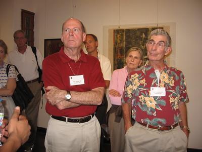 Andy Steffan and Joel Weinstein at Campus gallery - Leslie Rowley