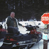 Jack Goessl has the map out again...you know what that means...we are 'LOST'    3/2006 TRIP From  Tomahawk to Butternut (n of park falls)