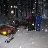 MIKE EAGAN, PAM, & TOM SPERANZ NEAR ST GERMAIN, WI. 2/06 SNOWMOBILE TRIP