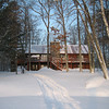 DIDN'T YOU ALWAYS WANT TO HAVE A FULL LOG-CABIN ON THE LAKE???? (MIKE & SUE EAGAN DO....)  AND A FEW OF THE TOYS THAT GO WITH IT...   FEB 06    ST GERMAIN,WI.