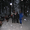 DOUG, PAM, & SPERANZ   2/06 SNO-MO TRIP TO EAGAN'S PLACE IN ST GERMAIN, WI.