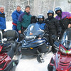 DICK KELLY, TOM SPERAZA, MIKE EAGAN, ROSE BOUCHET, PAM P., AND TOM BUNBURY.  ROSE WAS THE ONLY ONE TO HAVE ENOUGH BALLS TO PUT THE THROTTLE DOWN TO THE FIREWALL.....GEEZ! WHAT A WOMAN!!!   2/06 ST GERMAIN., WI  (PAM DID CROSS THE LAKE AT 75 MPH THO)