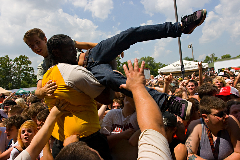 Coheed and Cambria crowd