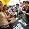 As I lay Dying signing