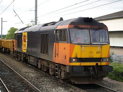 60007  1655 Guide Bridge-Crewe Basford Hall