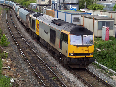 60055 1249/7F02 Fiddlers Ferry-Liverpool