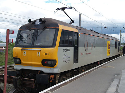 92003 Stabled in the head shunt.